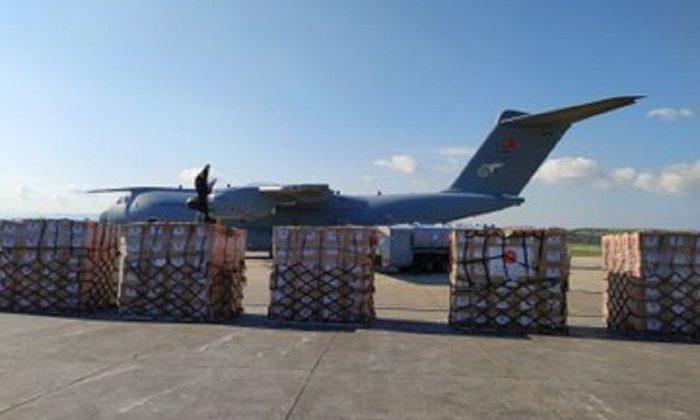 Türkiye'den Nijer'e tıbbi yardım taşıyan TSK'ya ait uçak Ankara'dan havalandı