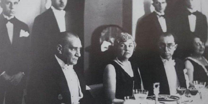 Hatay Enginarı ve Atatürk