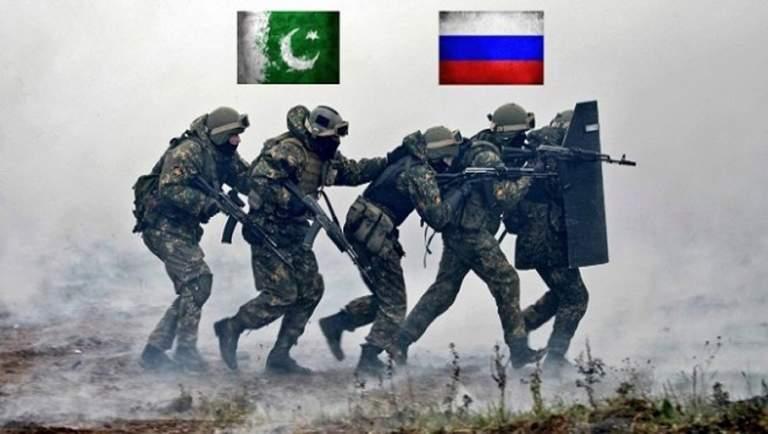 Rusya ve Pakistan Ortak Askeri Tatbikat Yapacak