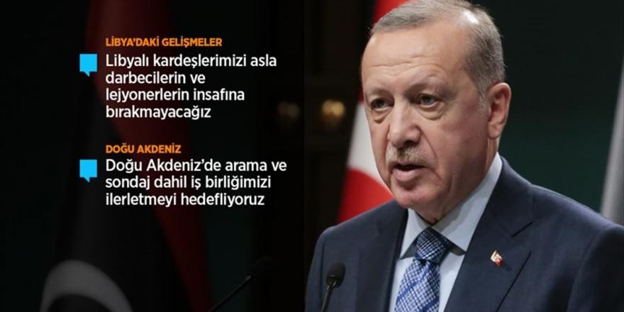 Cumhurbaşkanı Erdoğan: Darbeci Hafter'i Destekleyerek Libya'yı Kan Ve Gözyaşına Boğanları Tarih Elbette Yargılayacaktır