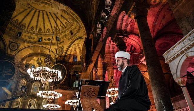 Cumhurbaşkanı Erdoğan'dan Ayasofya talimatı: Namaz da kılınır, Fetih Suresi de okunur