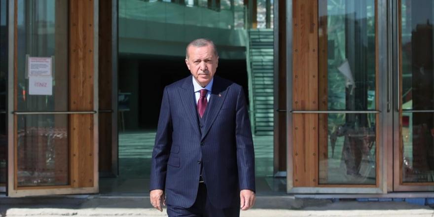 Cumhurbaşkanı Erdoğan Yeni CSO Binasını Ve Yargıtay Başkanlığı Yeni Hizmet Binasını İnceledi