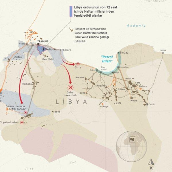 Libya ordusu, petrol sahalarında hakimiyeti geri alacak