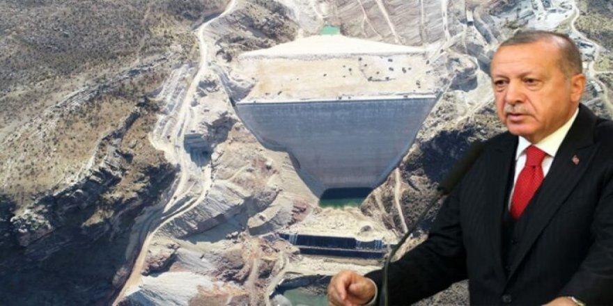 Yusufeli Barajında tarihi gün