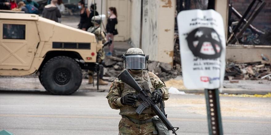 ABD'de Devam Eden Protestolara Karşı 43 Binden Fazla Ulusal Muhafız Görevde