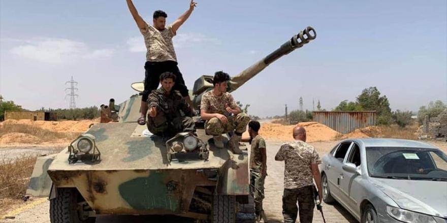 Libya Ordusu Sirte'de Bae'ye Ait Siha Düşürdü