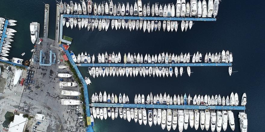 El Değmemiş Koyların Milyon Dolarlık Misafirleri Denize İndiriliyor