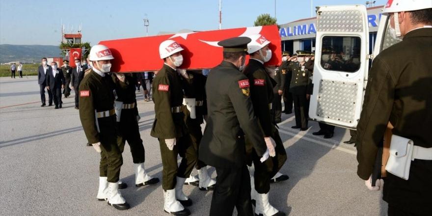 Şehit Anayurt'un Cenazesi Tokat'a Getirildi