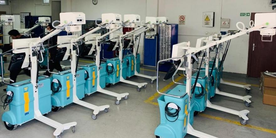 Yeni Sağlık Tesislerine Yerli Üretim Röntgen Cihazı