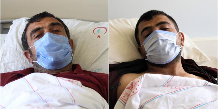 PKK'lı Teröristlerin Saldırısında Yaralanan İşçiler Saldırı Anını Anlattı