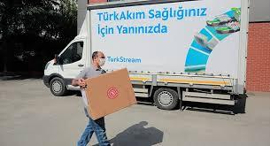 TürkAkım'dan Kırklareli'ndeki hastane ve vatandaşlara koruyucu sağlık ile temizlik malzemesi yardımı