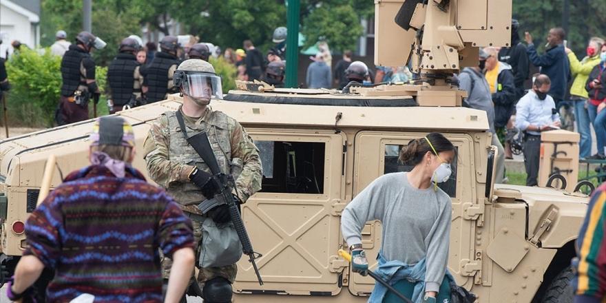 ABD'nin Başkentindeki Floyd Protestolarında Görevli Ulusal Muhafızlarda Kovid-19 Çıktı