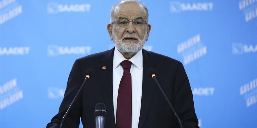 Saadet Partisi Genel Başkanı Karamollaoğlu: Ayasofya'nın İbadete Açılmasının Doğru Olduğu Kanaatindeyiz