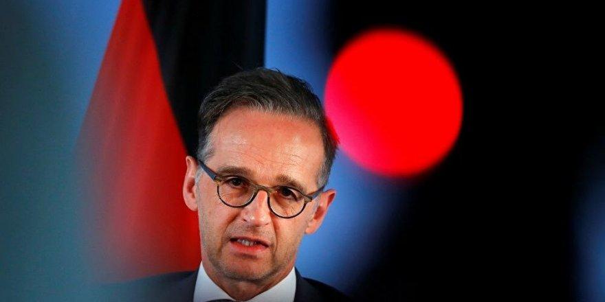 Almanya Dışişleri Bakanı Maas: Bazı ülkeler İsrail'e yaptırım uygulayabilir