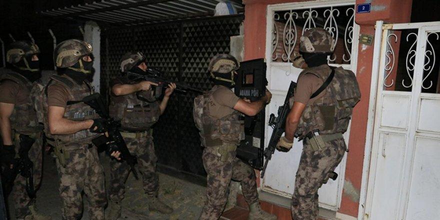 Adana'da HTŞ operasyonu: 6 şüpheli yakalandı