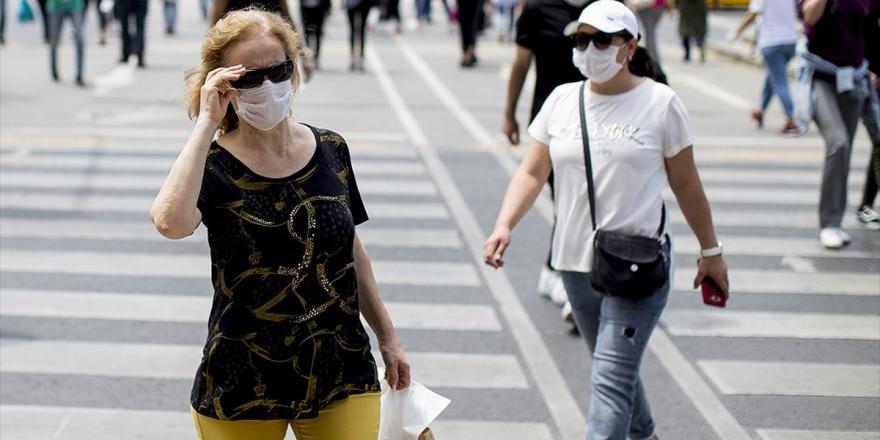 'Sağlığınız İçin Islanan Maskenizi Hemen Değiştirin' Uyarısı