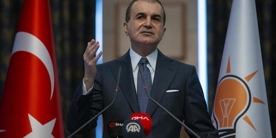 Ak Parti Sözcüsü Çelik'ten Chp'li Kaboğlu'nun Sözlerine Tepki