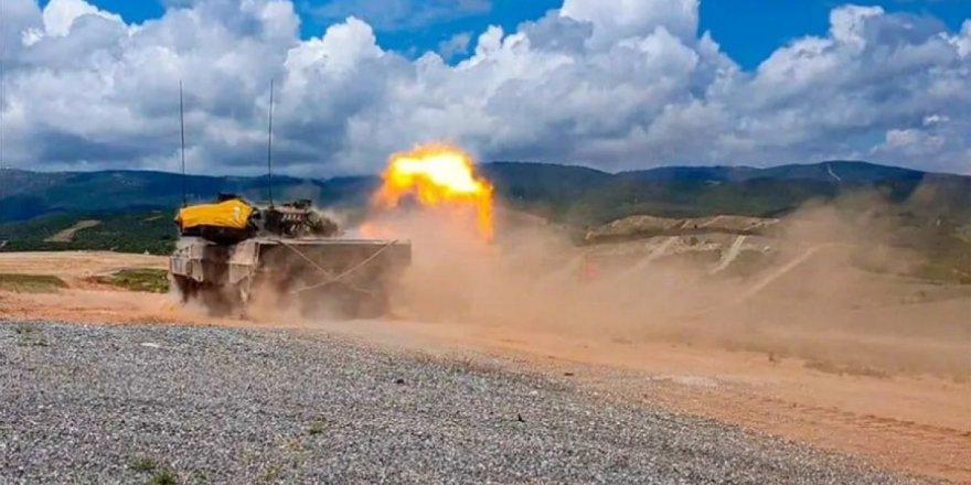 Yunanistan Türkiye sınırında askeri tatbikat yaptı