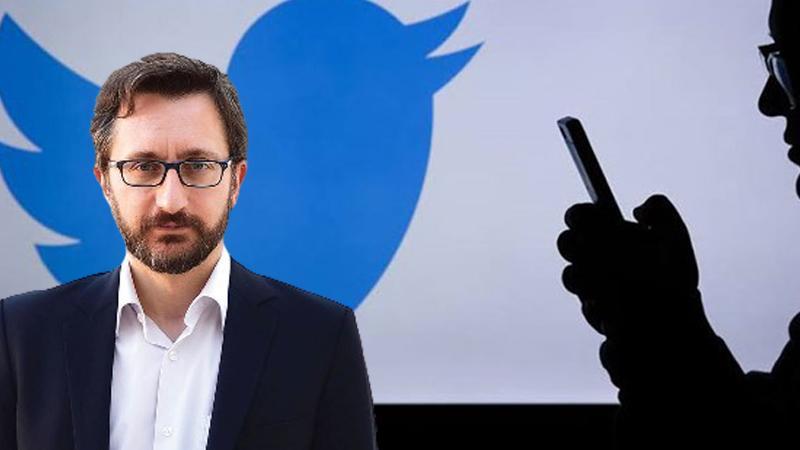 Altun, Twitter'ın Türkiye'deki 7 binden fazla hesabı kapatmasına tepki gösterdi