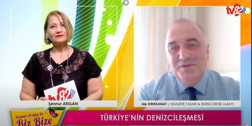 Emekli Albay Alp Kırıkkanat, Tv82'de Türkiye'deki denizciliği değerlendirdi