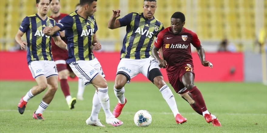 Fenerbahçe Sahasında Kazandı