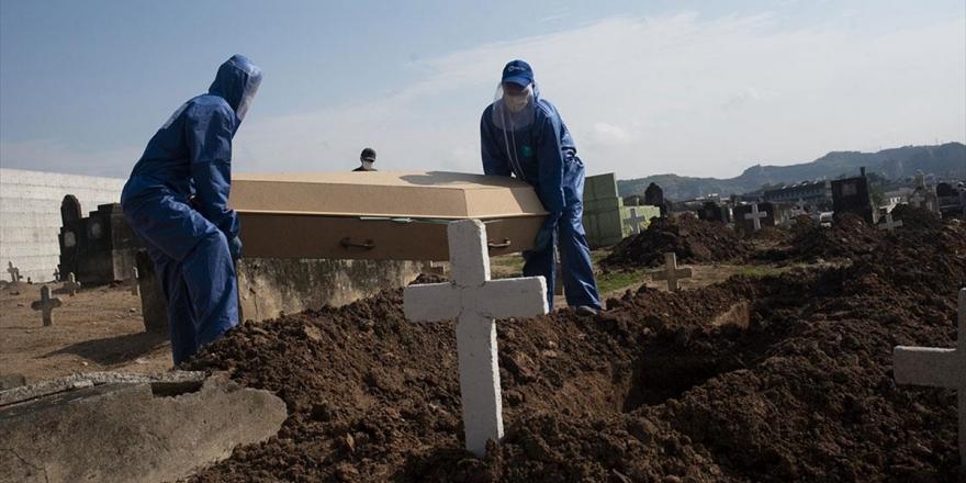 Brezilya Dünyada Kovid-19 Kaynaklı En Çok Ölümün Görüldüğü İkinci Ülke