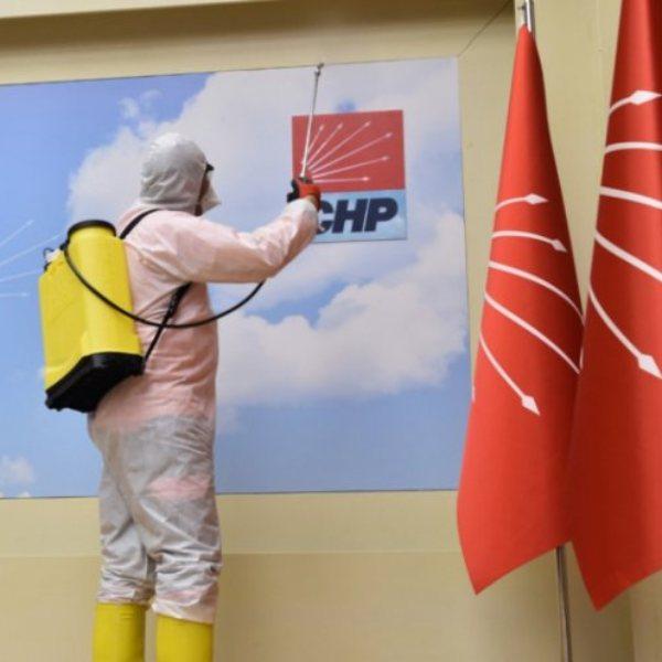 CHP Genel Merkezi'nde koronavirüs paniği