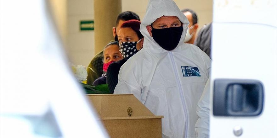 Brezilya'da Son 24 Saatte Kovid-19 Nedeniyle 892 Kişi Hayatını Kaybetti