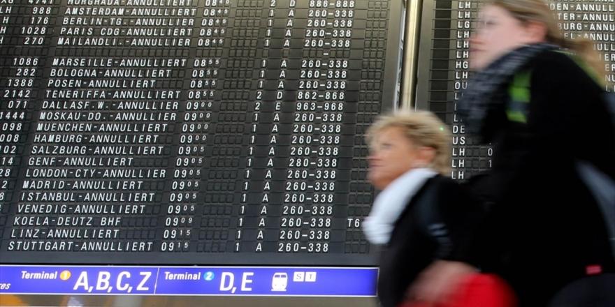 Frankfurt Havalimanı'nın Yolcu Sayısı Mayısta Yüzde 95,6 Azaldı