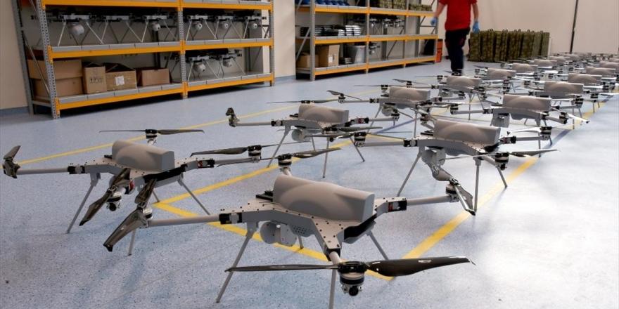 Kamikaze Drone Üretimini İlk Kez AA Görüntüledi