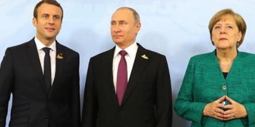 Putin, Macron ve Merkel Türkiye'ye geliyor