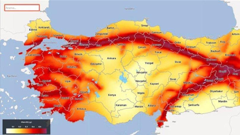 Türk Profesör, Türkiye'deki Tehlikeli Deprem Bölgelerini Açıkladı