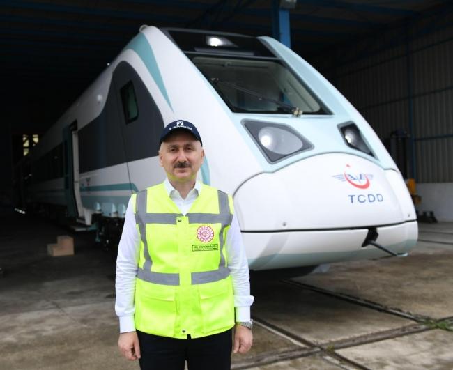 Milli Elektrikli Trenin Testleri 30 Ağustos'ta Başlıyor