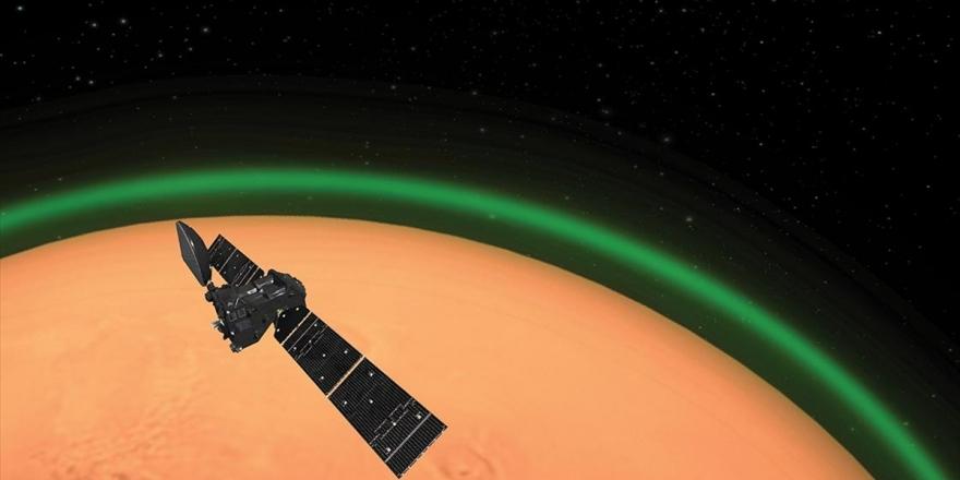 Mars Atmosferinde Yeşil Işık Keşfedildi