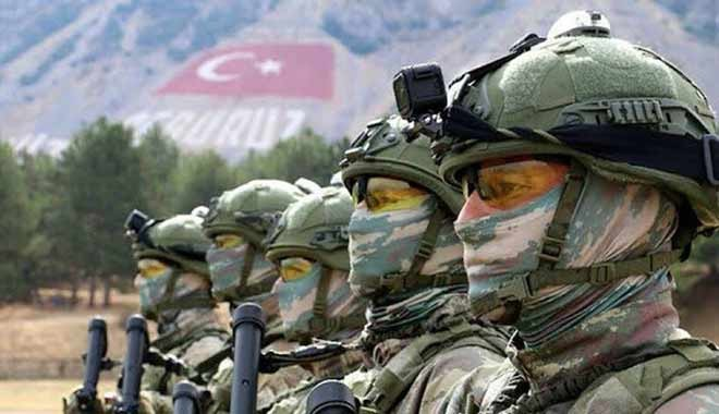 MSB: Kahraman Komandolarımız Haftanin'de: Hedefler tam isabet