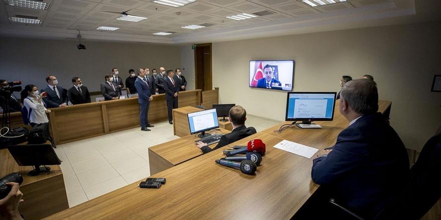 E-duruşma Uygulaması Mahkeme Salonunda Test Edildi