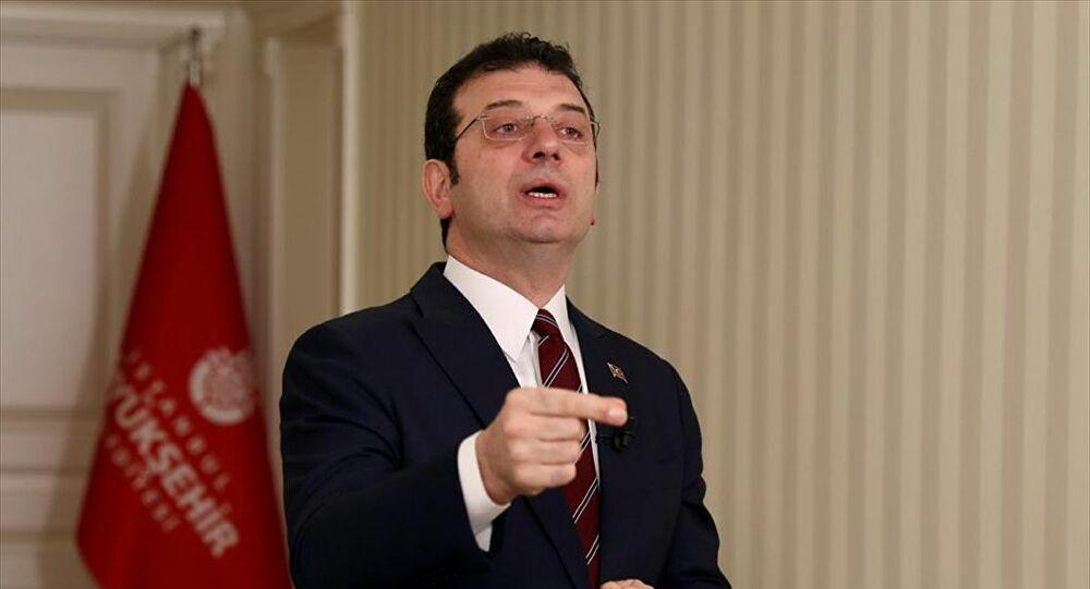 İBB Başkanı İmamoğlu'ndan taksicilerin 'İstanbul'u kilitleriz' tehdidine yanıt