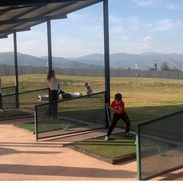 Tunceli'nin ilk golf sahası açıldı