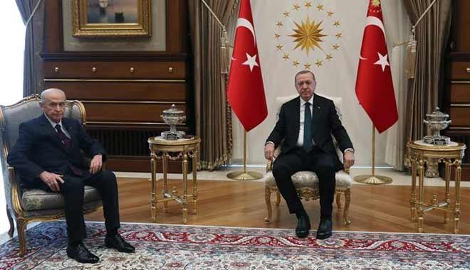 Erdoğan ve Bahçeli zirvesinde 8 kritik başlık konuşuldu