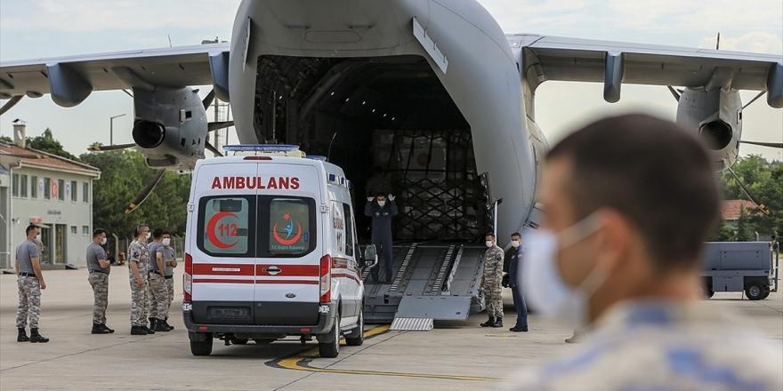 Türkiye İkinci Kez Çad'a Tıbbi Yardım Malzemesi Gönderdi
