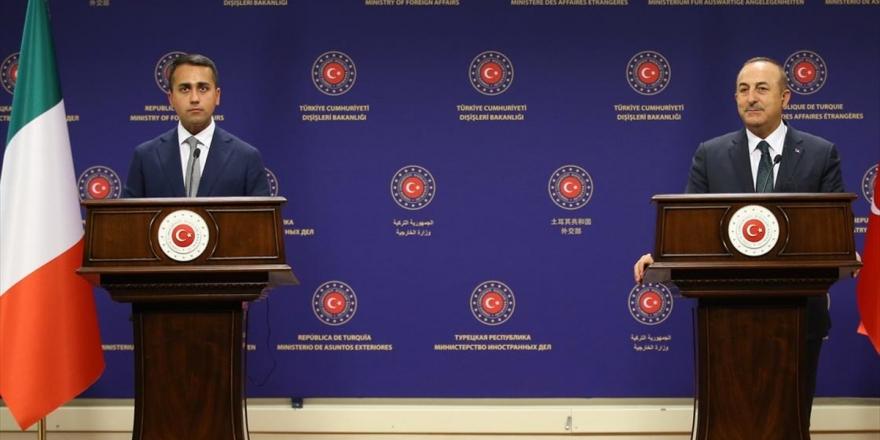 Dışişleri Bakanı Çavuşoğlu: İtalya İle Libya'da Kalıcı Barış İçin Çalışmaya Devam Edeceğiz