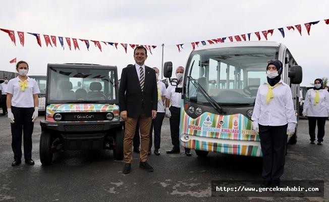 İBB'den 'elektrikli araç' açıklaması: Adalar'daki yollar karayolu değil