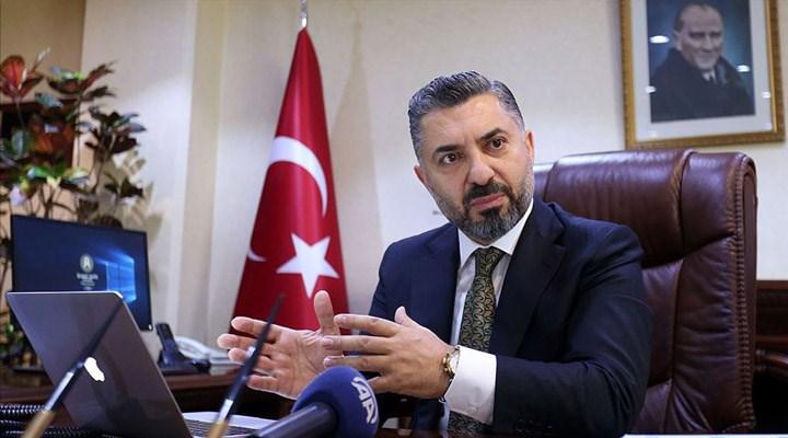 RTÜK Başkanı Şahin: Hiçbir zaman 4 maaşım olmadı