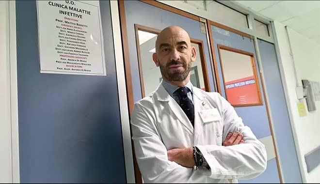 İtalyan profesör: Koronavirüs etkisini yitirerek daha az ölümcül hale geldi