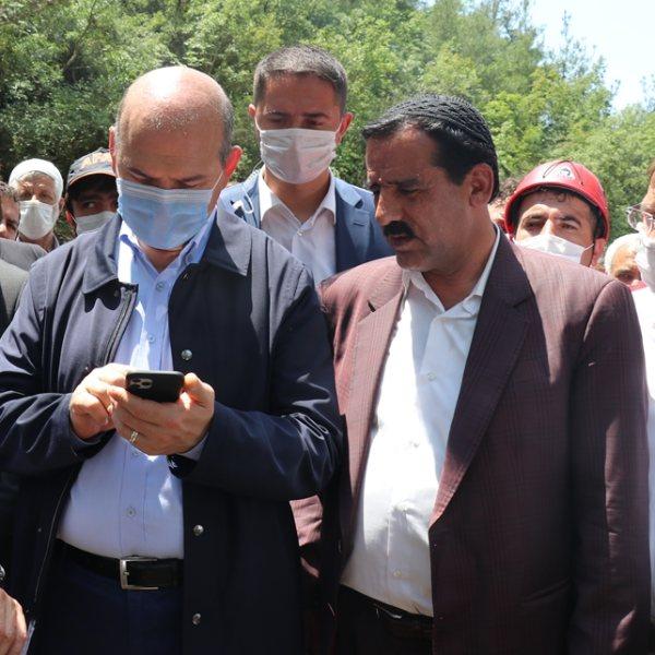 Erdoğan, sel bölgesindeki ailelere taziyelerini iletti
