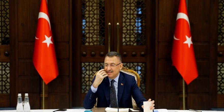 Cumhurbaşkanı Yardımcısı Oktay, Özbekistan Başbakan Yardımcısı Umurzakov'la Telefonda Görüştü