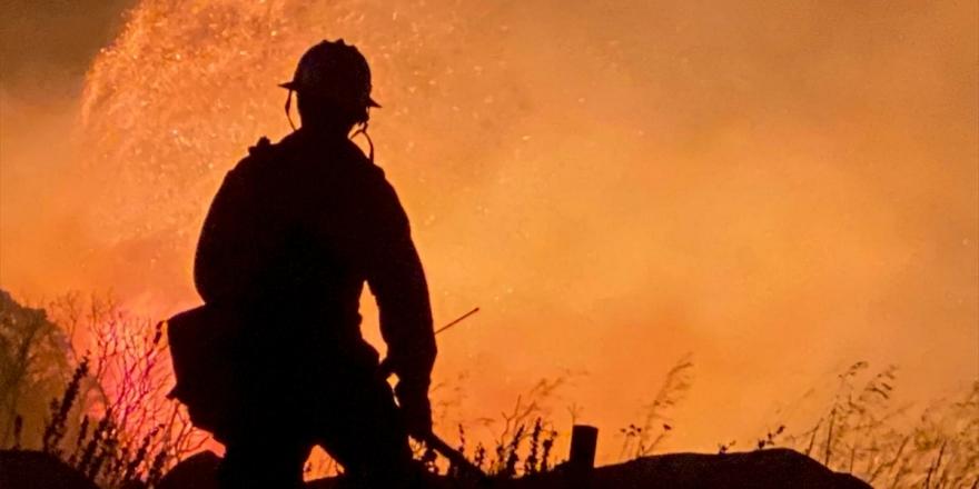 ABD'de Aşırı Sıcak Ve Orman Yangını Alarmı