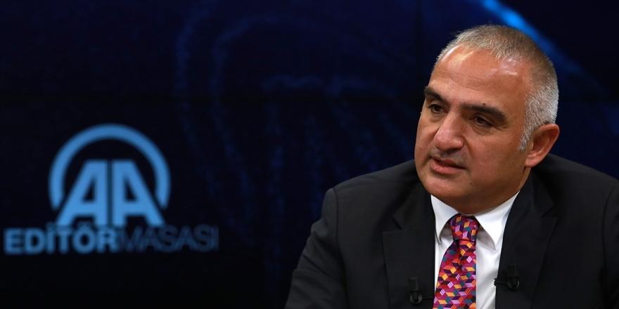 Kültür Ve Turizm Bakanı Ersoy Aa Editör Masası'na Konuk Olacak