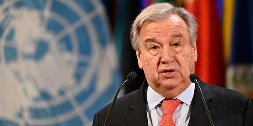 BM Genel Sekreteri Guterres'ten Kovid-19 Salgınında Uluslararası Koordinasyon Eksikliği Eleştirisi