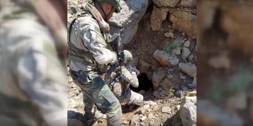 MSB: Pençe-kaplan Operasyonu'nda 150 Metrelik Mağara İmha Edildi